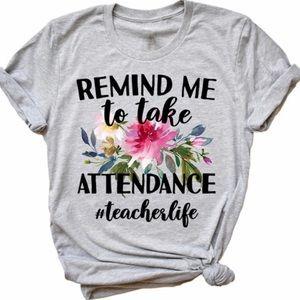Attendance Tshirt